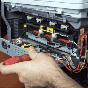 آموزش تعمیرات پرینتر panasonic
