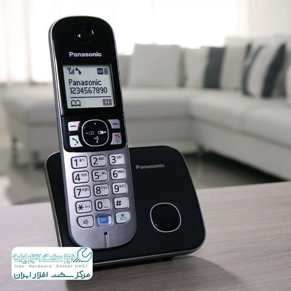 ذخیره ی شماره در تلفن ثابت پاناسونیک