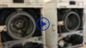 فیلم آموزش تعویض موتور ماشین لباسشویی پاناسونیک