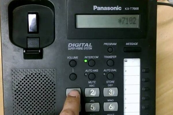 شماره گیری سریع در تلفن پاناسونیک